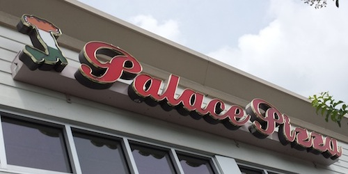 Palace Pizza Sign